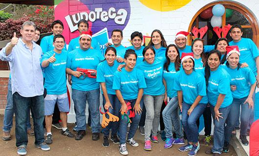 Hasbro Inauguro Una Hermosa Ludoteca En La Aldea Infantil Sos